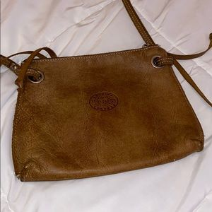 Roots leather small purse